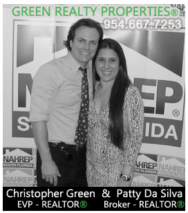 Chris Green Realtor and Patty Da Silva Broker