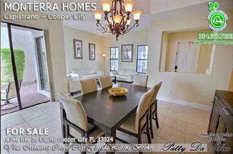 Monterra Homes For Sale | Monterra Cooper City | Capistrano