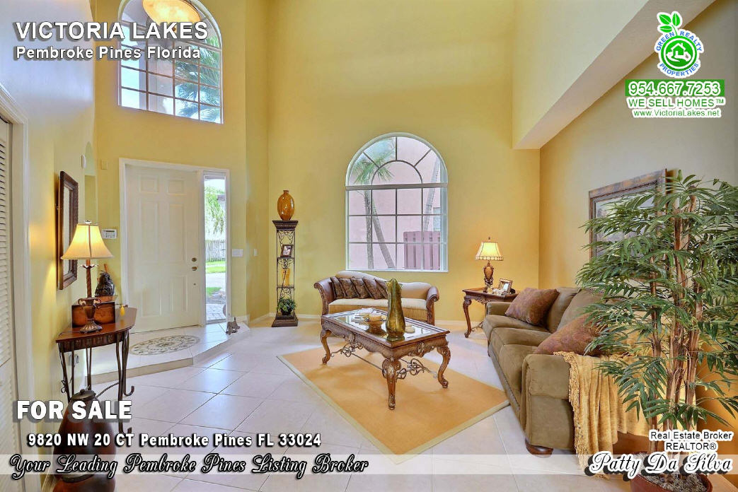 Breath Taking Victoria Lakes Homes in Pembroke Pines